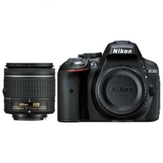 Nikon D5300 with AFP18-55mm VR kit