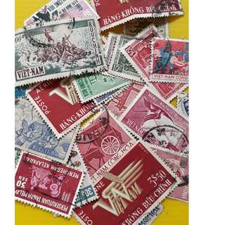 VIETNAM - Vintage Collection of Used Stamps - RARE - 20 Pieces LOT