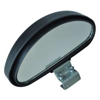 Lorry van car Black Plastic Casing Car Side Blindspot Blind Spot Mirror Wide Angle View