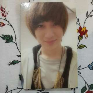 WTS/WTT SHINee TAEMIN LUCIFER OFFICIAL PHOTOCARD
