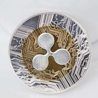 Ripple coin XRP CRYPTO Collectors Coin Gift