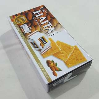 Legit Brand New With Box Haitai Almond Cracker