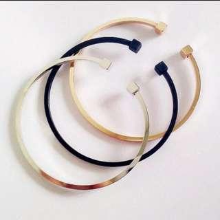 Double Cubed Minimalist Bracelet 2