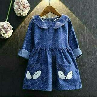 Dress cindy denim kids