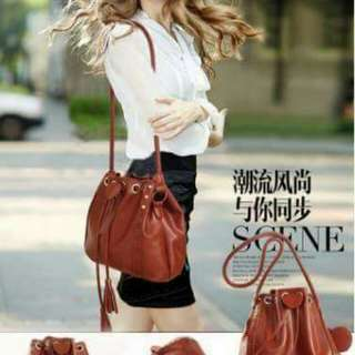 KOREAN SLING BUCKET BAG P399