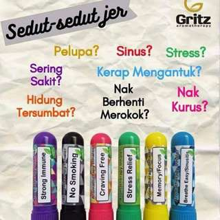 Instock Gritz Aromatherapy Inhaler