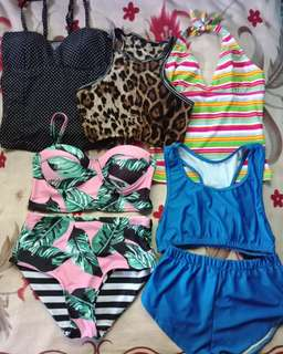 All swimsuit for 600 pesos nlng! Sale!
