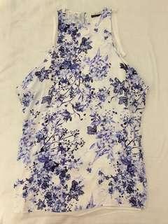 Zara Long blouse/short dress