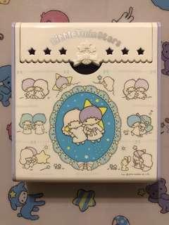 Little Twin Stars 1976 memo 盒
