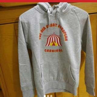 全新AIA嘉年華灰色小童衛衣(1至12歲) Kid's Hoodie 原價120蚊