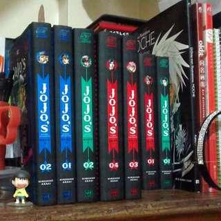 JOJO's Bizarre Adventure Hardbound Manga