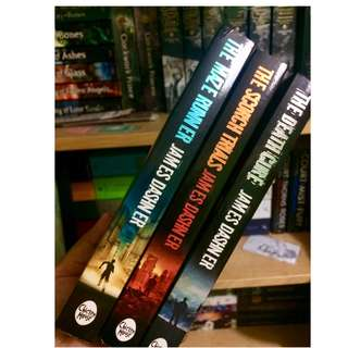 The Maze Runner Trilogy - James Dashner