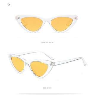 Readystock Yellow Devon Sunglasses
