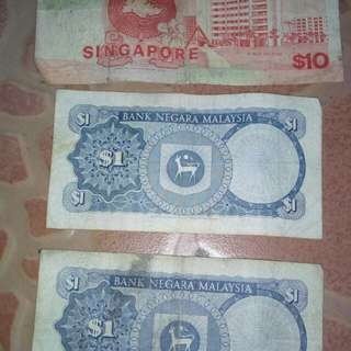 Singapore n malysia money