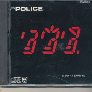 Police - Ghost in Machine (AUDIO CD) A&M 1981 (MADE IN FRANCE) [x7]