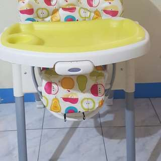 Graco high chair repriced!!