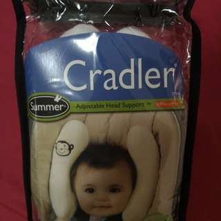 Summer Infant可調式寶寶護頸枕 護枕 保護枕 車用定型枕 防側睡枕 定位枕 嬰兒安全座椅專用枕頭