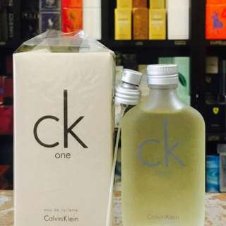 CALVIN KLEIN COLLECTION: US Testers Authentic