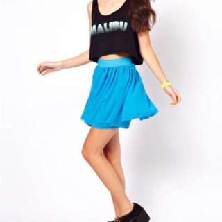American Apparel Double Layer Skirt
