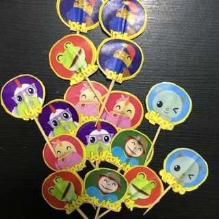 Customised Cake Toppers- Didi and Friends