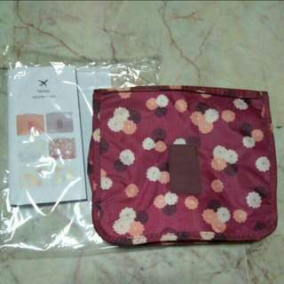New Travel Toiletries Cosmetics Pouch