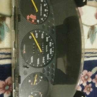 Civic ek Typer R meter