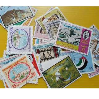 KUWAIT - Commemorative Stamp - 20 PCS LOT