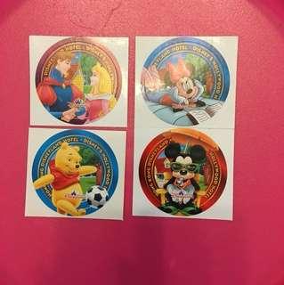 絕版迪士尼貼紙