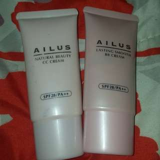 AILUS BB & CC cream