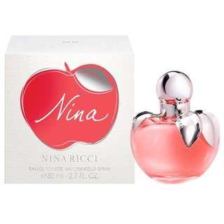 Authentic Nina Ricci Nina EDT 80ml (RTP $145)