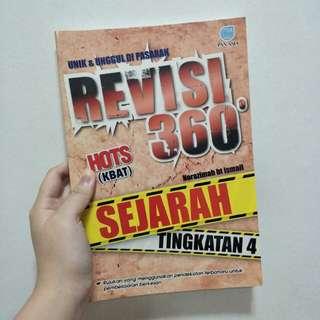 (Publisher : Pan Asia)  Revisi 360 Sejarah SPM tingkatan 4