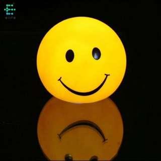 lampu tidur smiley