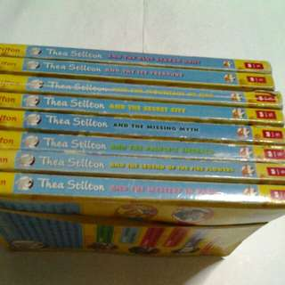 Thea Stilton & Geronimo Stilton