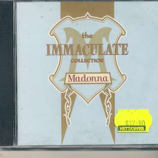 Madonna - The Immaculate Collection (AUDIO CD) Sire 1990 (MADE IN GERMANY) [x7]