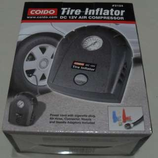 BN Car Tyre inflator aka 12V DC air compressor