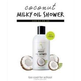 Coconut Milky Oil Shower, 300ml from Too Cool for School
