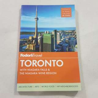 Legit Brand New Fodor's Travel Toronto Canada Travel Paperback Book