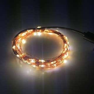 5m warm white LED Fairy Lights