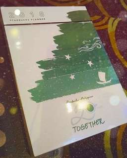 SEALED 2018 STARBUCKS PLANNER