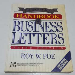 Handbook business letters