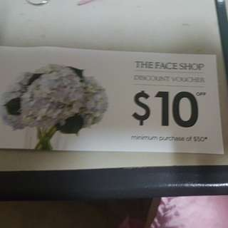 Faceshop $10 vouche4