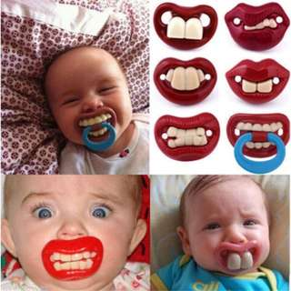 Dummy Pacifier Baby Toddler Joke Prank 6 Designs