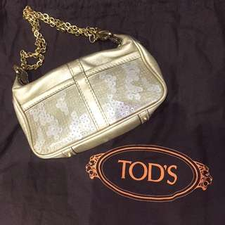 Hangbag Tods Mini Gold