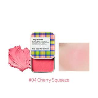 🆕 Too Cool for School ♥️♥️ Jelly Blusher - 04 Cherry Squeeze 8g