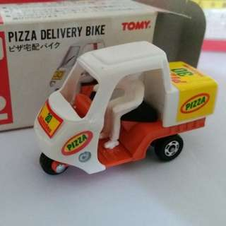 Tomica tomy tomy車 no 82 號 Pizza Delivery Bike 日本製
