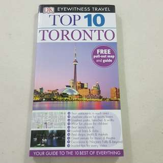 Legit Brand New DK Eyewitness Travel Top 10 Toronto Canada Travel Paperback Book