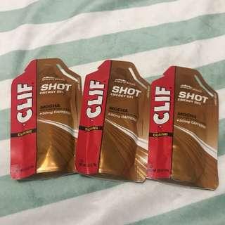 CLIF Shot Energy Gel Mocha +50mg caffeine HK$12@