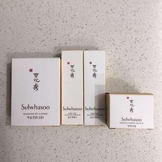 BN Sulwhasoo Travel Samples