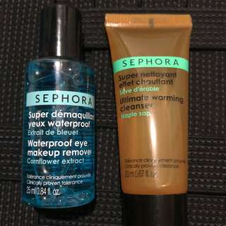 Waterproof Eye-Makeup Remover and Warming Cleanser