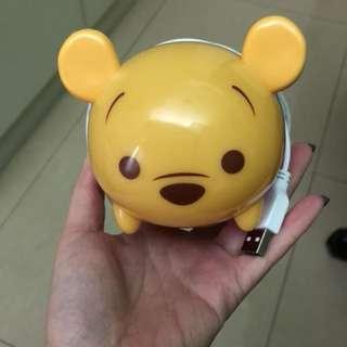 Disney Tsum Tsum USB 亮燈手機座